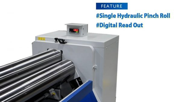 Tw 640h Initial Pinch Hydraulic Plate Rolling Machine