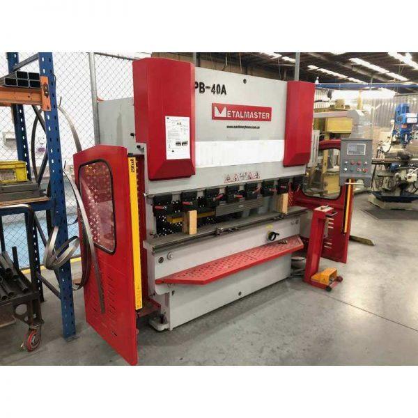 Used Machinery For Sale Metalmaster Pb 40a–hydraulic Nc Pressbrake
