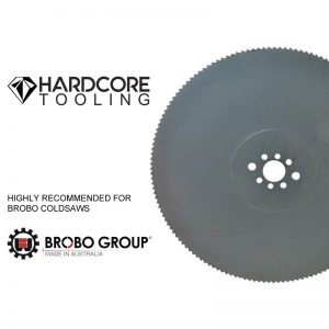 Brobo Blades For Model Coldsaw Sa400 315mm Diameter X 2 5mm Thickness X 40mm Bore X 160 Teeth