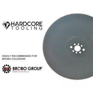 Brobo Blades For Model Coldsaw Vs350d 400mm Diameter X 2 5mm Thickness X 40mm Bore X 220 Teeth 1