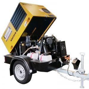 Kaeser M20 70cfm Diesel Air Compressor With Built In After Cooler 001