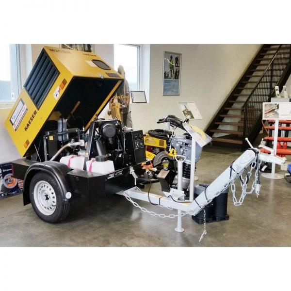 Kaeser M20 70cfm Diesel Air Compressor With Built In After Cooler 005