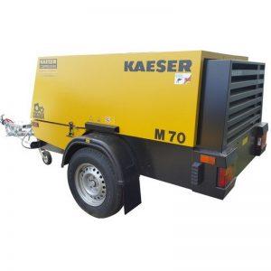 Kaeser M70 250cfm Diesel Air Compressor 001