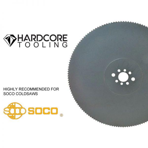 Soco Coldsaw Blades For Model Coldsaw Mc 275f 275mm Diameter