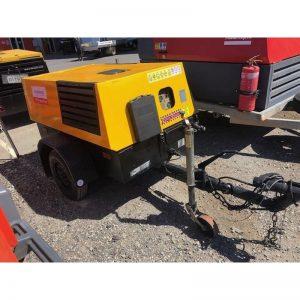 Used Kaeser M38 130cfm Diesel Compressor With Built In After Cooler 001