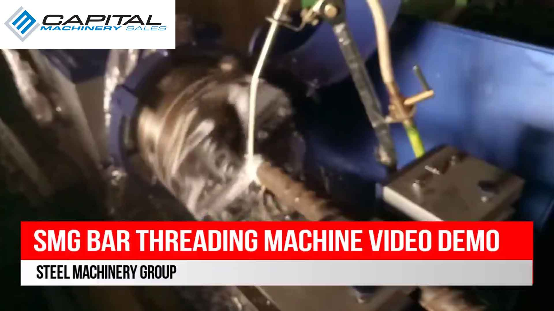 SMG Bar Threading Machine Video Demo