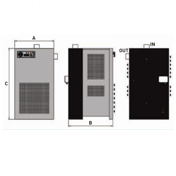 Pilot Air Tfd Series Refrigerated Compressed Air Dryers Based