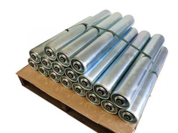 Steel Conveyor Roller 76mm Diameter X Length 605mm 004