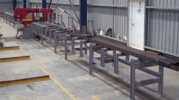 Steel Conveyor Roller Demo Installations