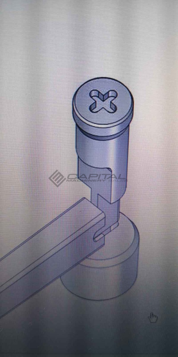 Tube Notching Tool Venting Galvanising 1