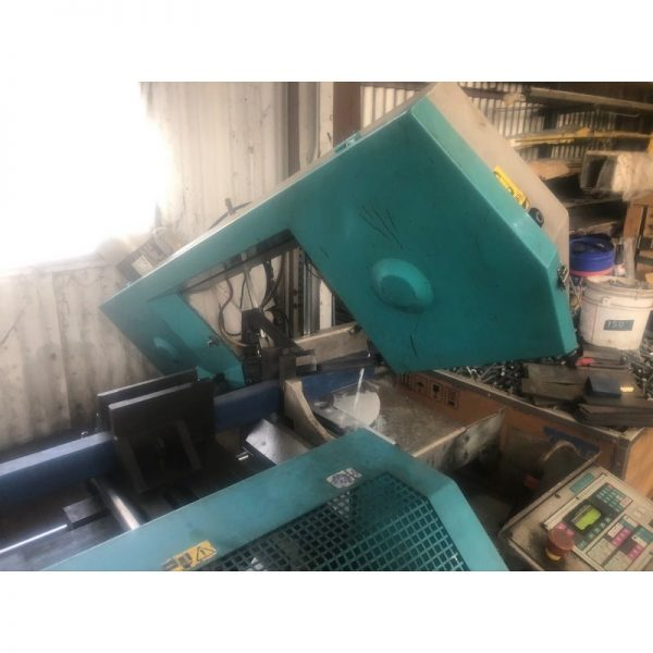 Used Imet Bs350 60 Afi Nc Bandsaw 009