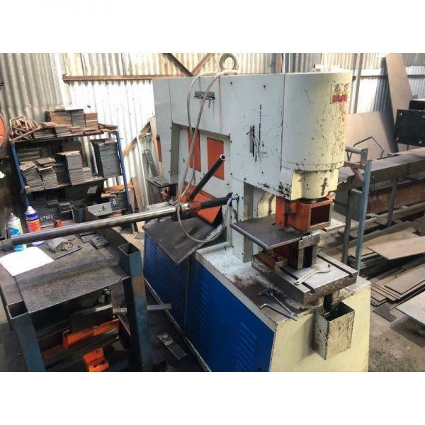 Used Sunrise Iw100s Punch And Shear Machine 004
