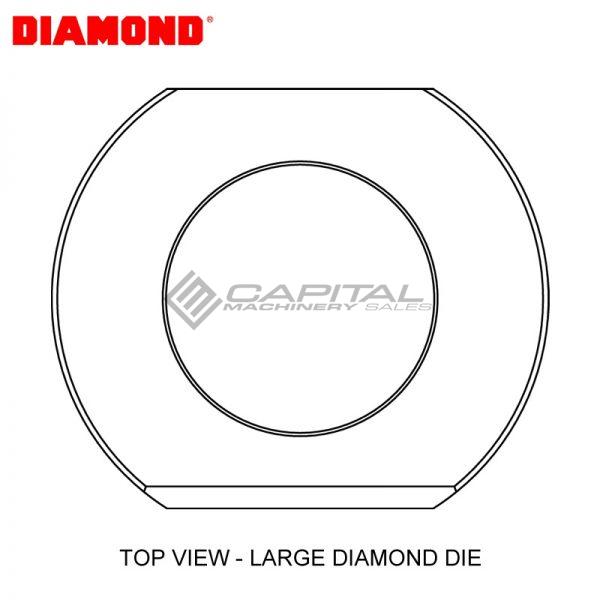 Diamond Ep2110v Round Die
