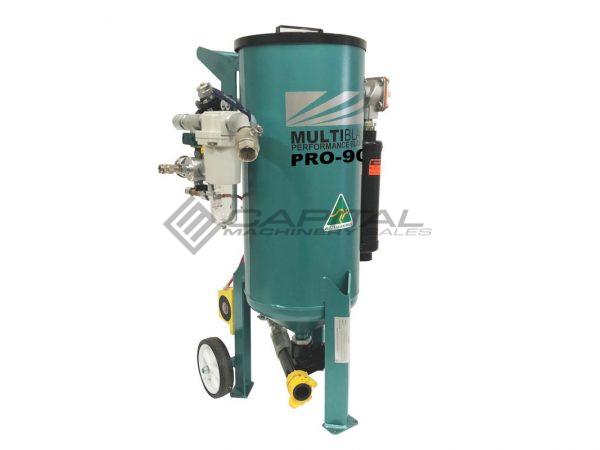 Multiblast Pro90 40 Litre Sandblasting Pot Machine With Soda Blasting Kit 003