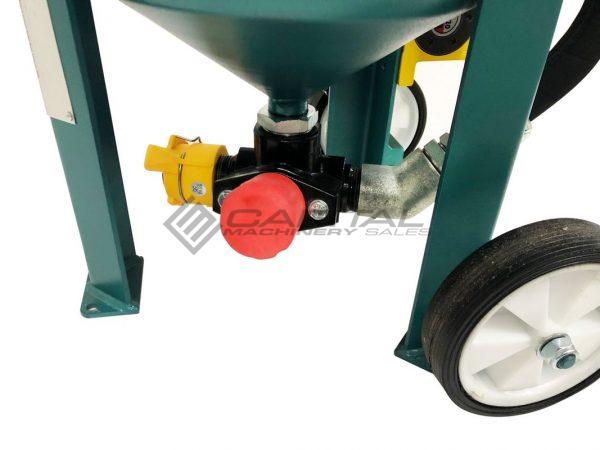 Multiblast Pro90 40 Litre Sandblasting Pot Machine With Soda Blasting Kit 004