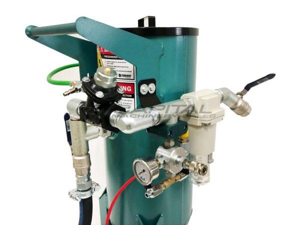 Multiblast Pro90 40 Litre Sandblasting Pot Machine With Soda Blasting Kit 008