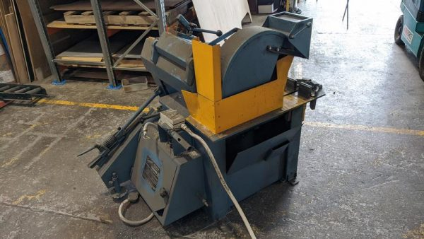 Used Trennjaeger High Speed Circular Metal Saw Ts01 002