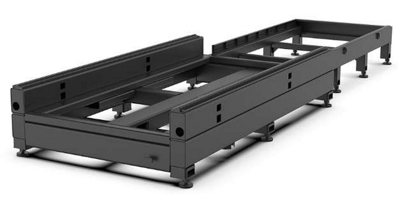 Atlantic Cnc Fiber Laser Cutting Machine Type Hflgse3015 3000w Automatic Shuttle Table
