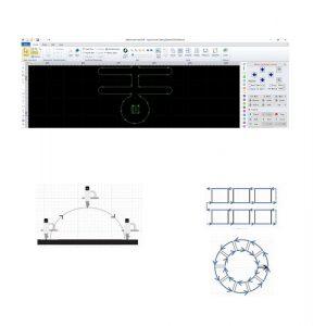 Atlantic Cnc Fiber Laser Cutting Machine Type Hflgse3015 3000w Cnc With Cypcut Software