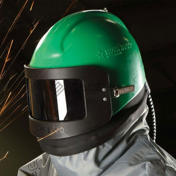 Nova 2000 Respirator Abrasive Sandblasting Helmet 002