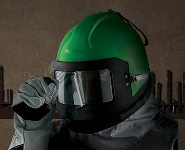 Nova 2000 Respirator Abrasive Sandblasting Helmet 004