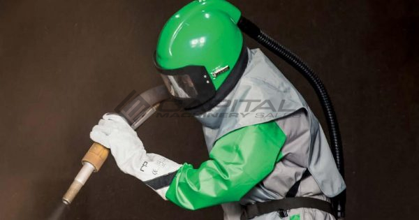 Nova 2000 Respirator Abrasive Sandblasting Helmet 005