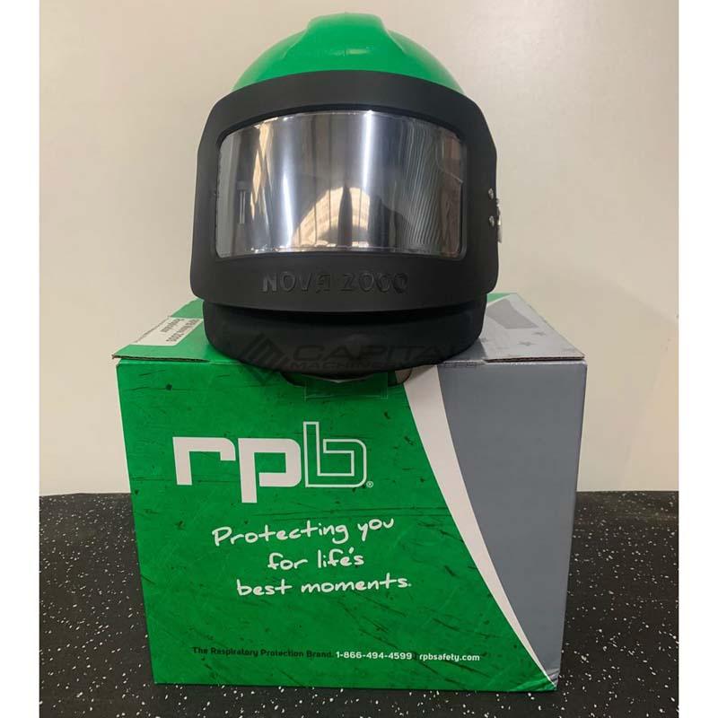 Nova 2000 Respirator Abrasive Sandblasting Helmet 006