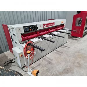 Used Metalmaster Hydraulic Nc Swing Beam Guillotine