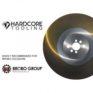 Brobo Cold Saw Ticn Coated Blades For Model Cold Saw Sa400 400mm Diameter X 3mm Thickness X 40mm Bore
