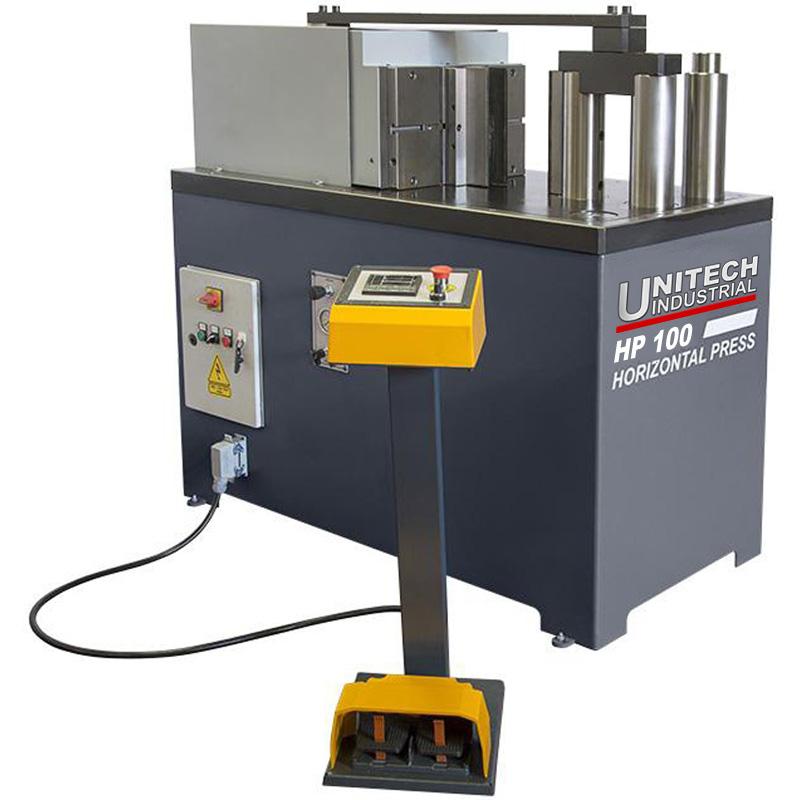 Unitech Hydraulic Horizontal Press 100 Hp100