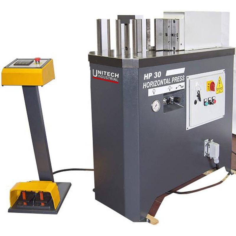 Unitech Hydraulic Horizontal Press 30 Hp30
