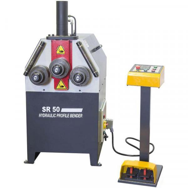 Unitech Sr50 Hydraulic Profile Section Rolls Bending Machine