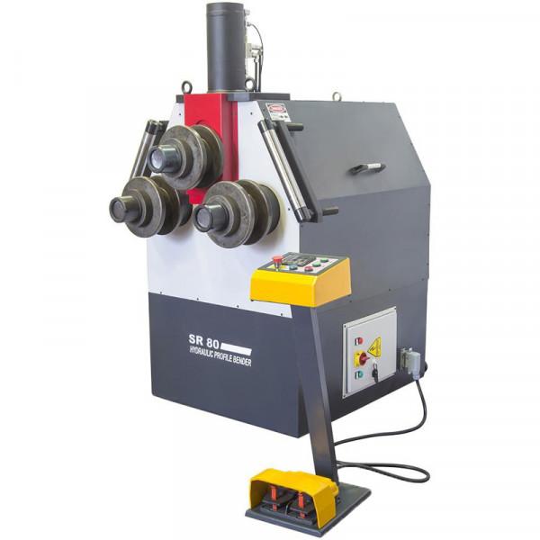 Unitech Sr80 Hydraulic Profile Section Rolls Bending Machine
