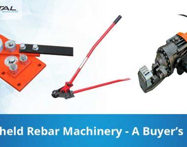 Handheld Rebar Machinery A Buyers Guide