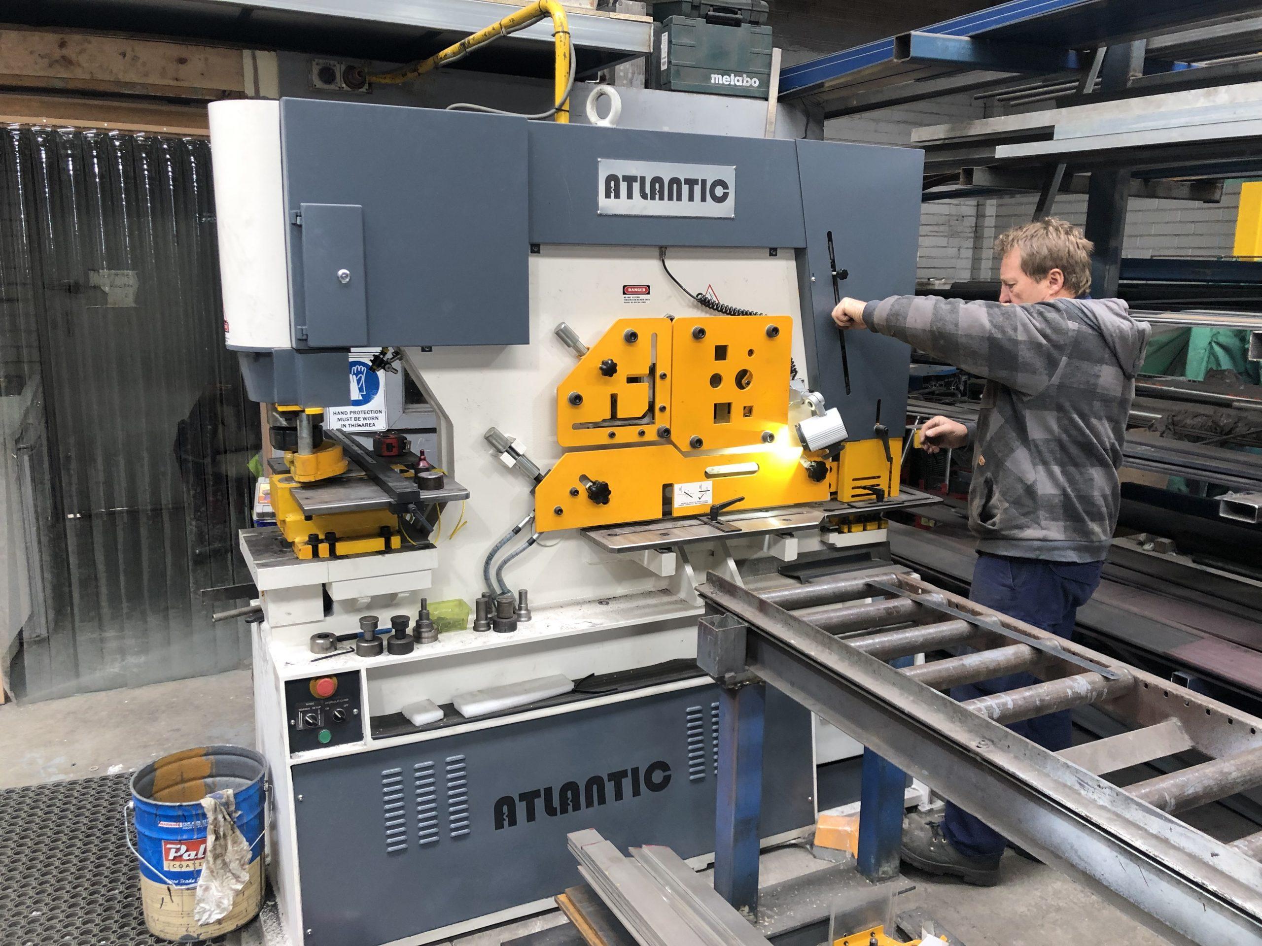 Kingsland Atlantic Multi 125 Iron Worker For Sale In Australia 2