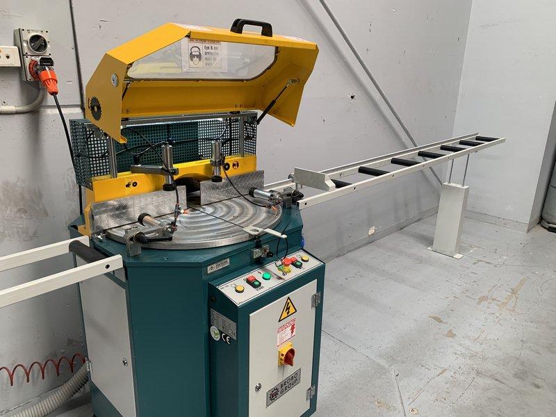 Brobo Tnf125 Up Cut Aluminium Saw 006