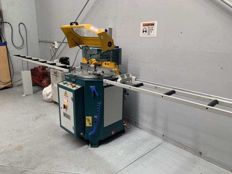 Brobo Tnf125 Up Cut Aluminium Saw 007
