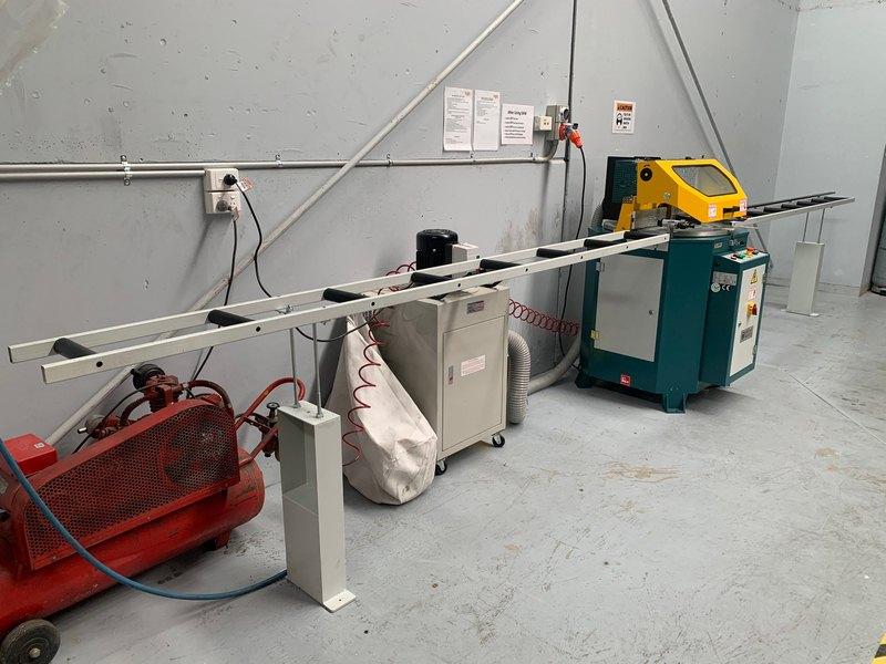 Brobo Tnf125 Up Cut Aluminium Saw 008