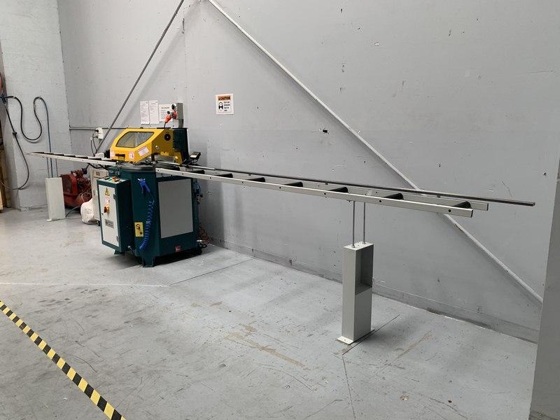 Brobo Tnf125 Up Cut Aluminium Saw 009