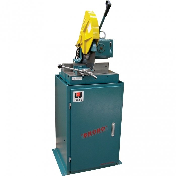 Brobo VS400d Ferrous Metal Cutting Cols Saw With Stand