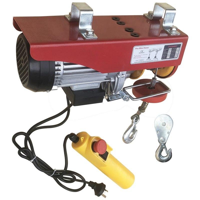 Toho Pro Mini Electric Hoist 500kg Capacity 240v