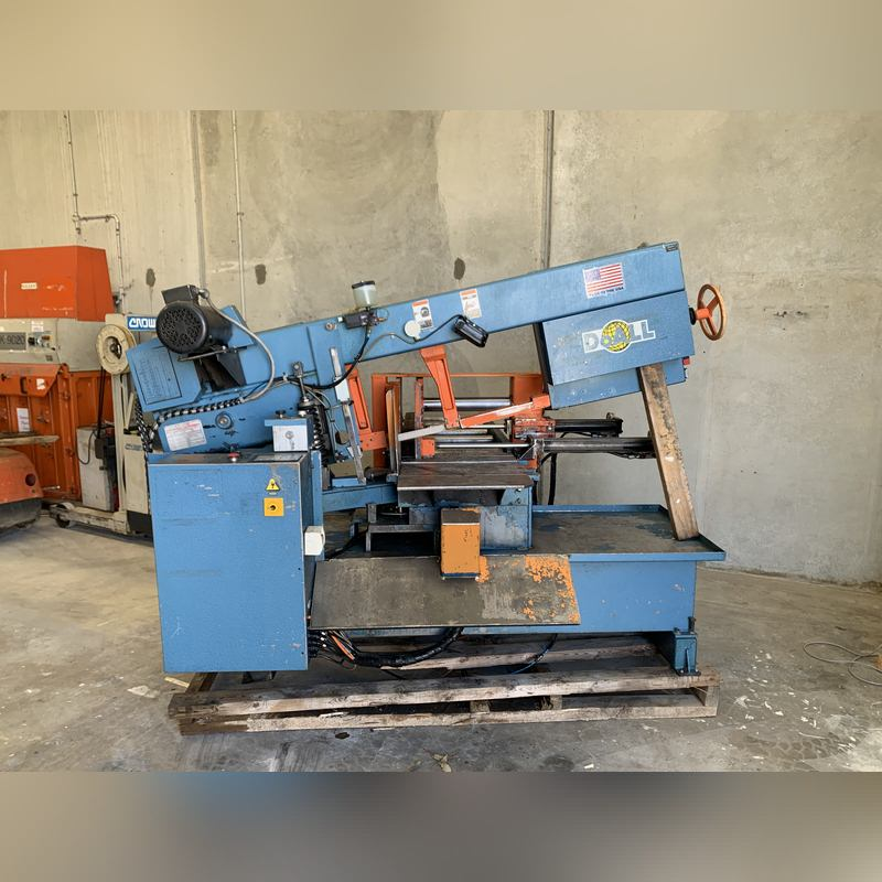 Used Doall Nc Automatic Bandsaw 001