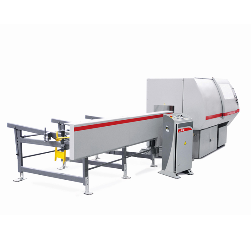Bomar Ergonomic 290 258 Dga Cnc Automatic Bandsaw With Material Loading System