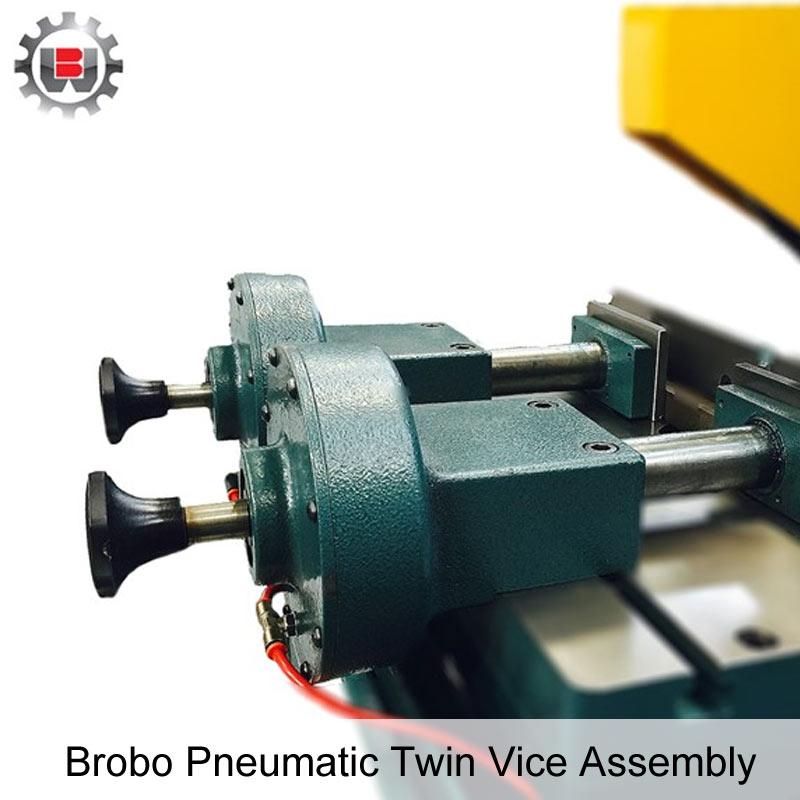 Brobo Pneumatic Twin Vice Assembly