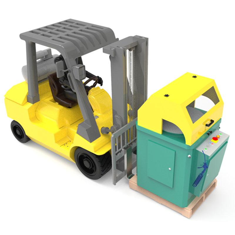 Brobo Tnf400 Up Cut Aluminium Saw Lift Truck