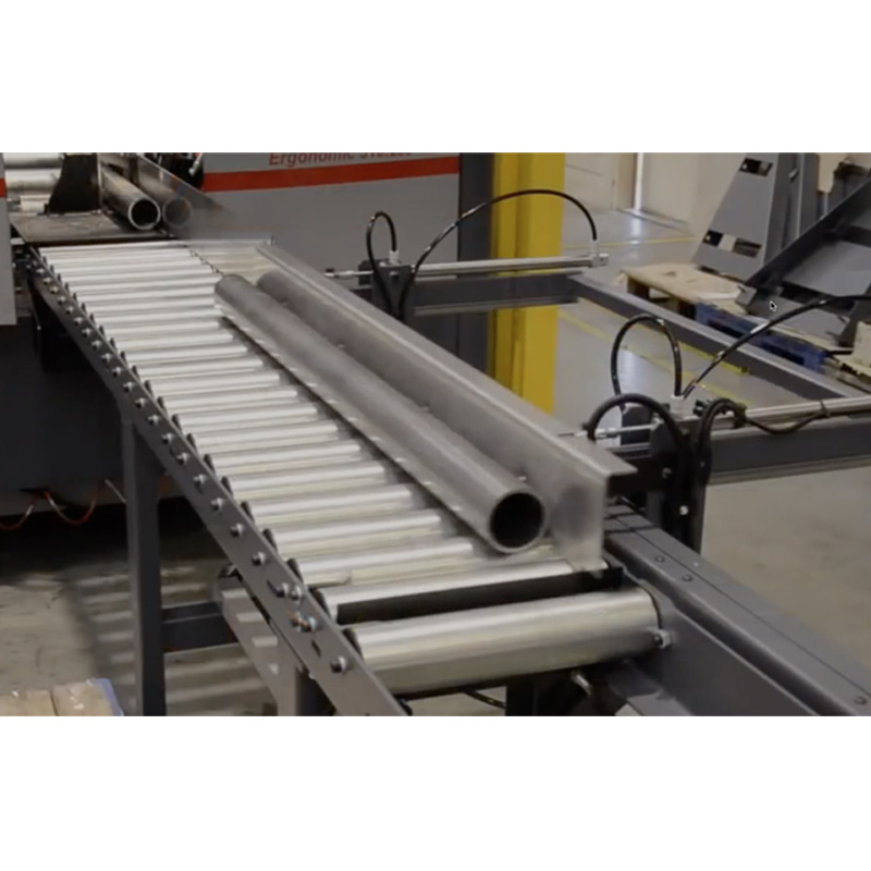 Bomar Automatic Bandsaw Material Discharge Systems