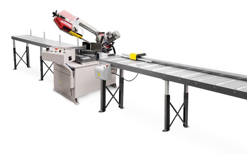 Bomar Type M Saw Roller Conveyor Material Handling System 002