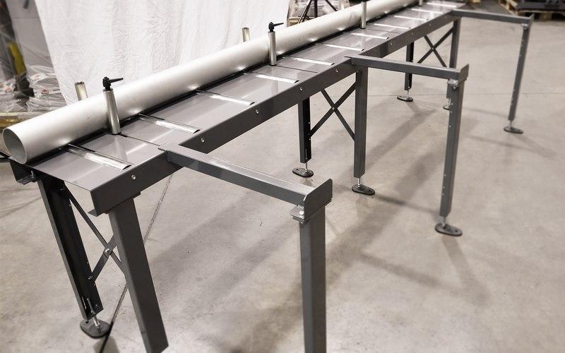 Bomar Type M Saw Roller Conveyor Material Handling System 005