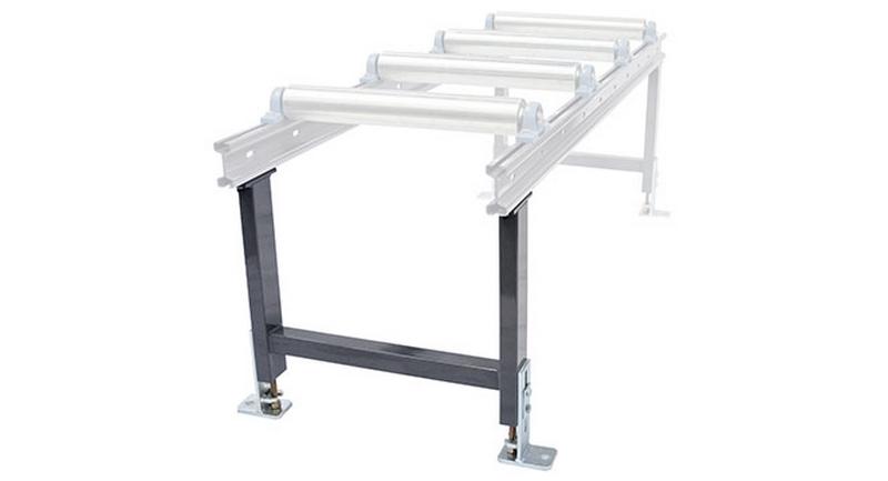 Bomar Type M Saw Roller Conveyor Material Handling System Support Leg