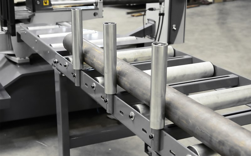 Bomar Type T Saw Roller Conveyor Material Handling System 004